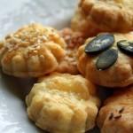 Oregánós sós keksz