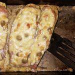 Baconös-tejfölös rakott cukkini recept